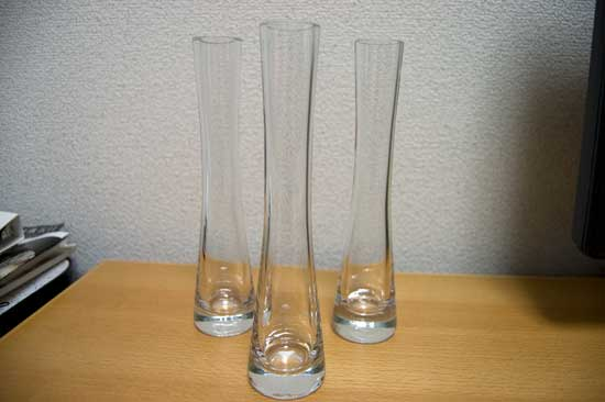 グラスベース(花瓶)(ニトリ ...